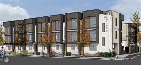 Multi Family Homes Plans Luxury Townhome Development Breaks Ground In Downtown