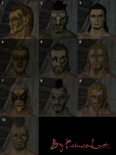 The Hair Styler Skyrim by Hairstyles And Faces Skyrim Mods Curse