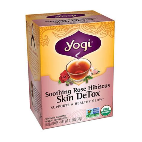 Yogi Skin Detox Tea Before And After by 15 Best Detox Teas For 2018 Cleansing Detox Teas For