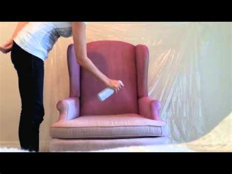 can you spray paint a couch diy how to spray paint fabric on furniture youtube