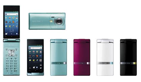 Softbank Sharp Android Flip Hello Limited Edition With 16mp android clamshell phone the sharp aquos hybrid 007sh