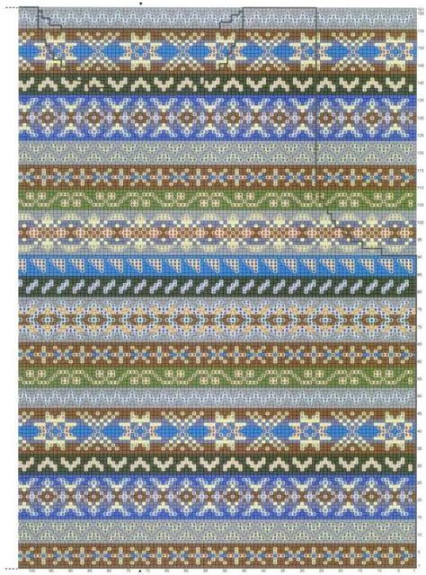 how to start fair isle knitting fair isle strikkediagram