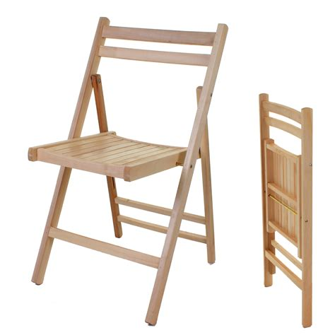 folding bench chairs wooden folding chair indoor outdoor slatted natural dining