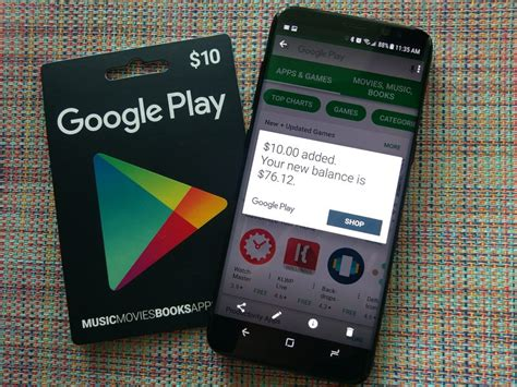 android gift card how to use a play gift card android central