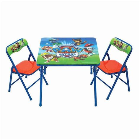 paw patrol desk chair koh s paw patrol activity chair set only 10 88