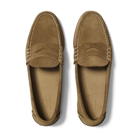 beefroll loafer club monaco rancourt beefroll loafer in brown for