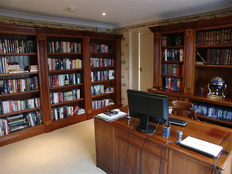 Home Study home studies traditional home office by heaven stubbs bespoke furniture ltd