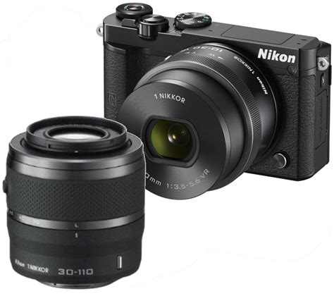 Kamera Nikon Mirrorless J5 buy nikon 1 j5 mirrorless with wide angle zoom lens standard zoom lens free delivery