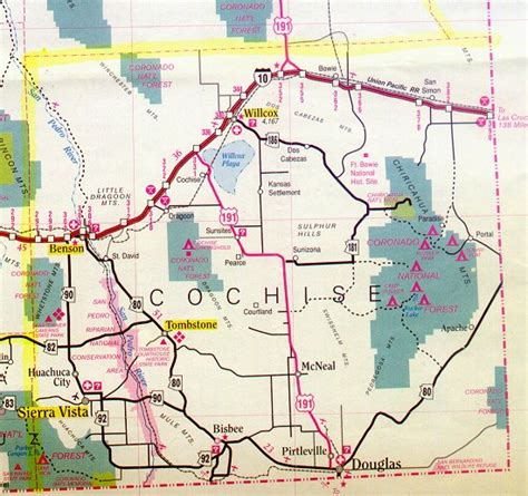 Cochise County Search Cochise County Map Arizona Arizona Hotels Motels Vacation Rentals Places To