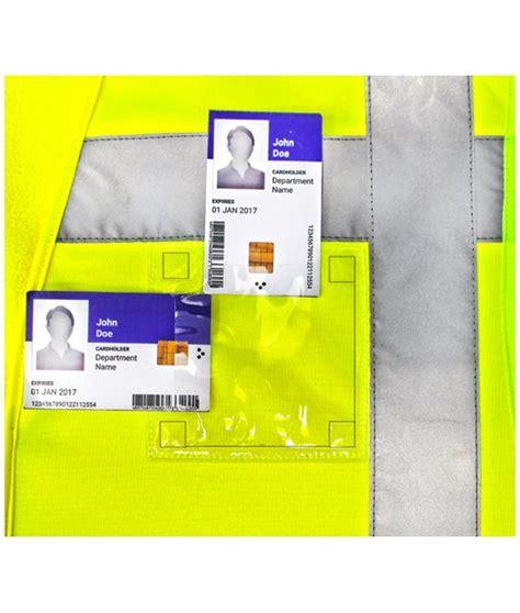 porta badge plastica porta badge in plastica da termosaldare 50 pezzi