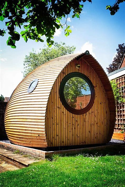 Tiny House Vacations: Garden Pod Micro Cabin in Winchester
