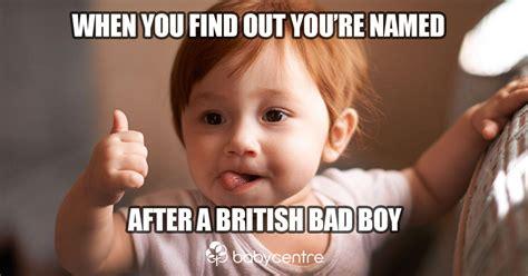 Baby Name Meme - top 100 boys names of 2017 babycentre uk