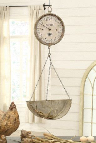 vintage reproduction home decor vintage reproduction hanging produce scale clock
