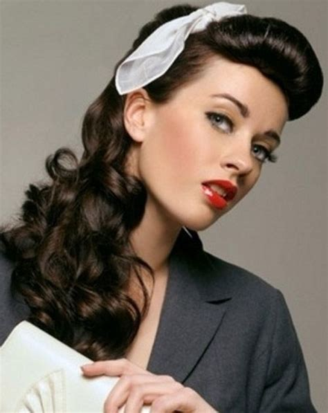 Easy Vintage Hairstyles | 50 easy vintage hairstyles for glamourous women