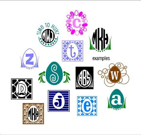 vinyl design maker easter basket monograms for vinyl vector graphics