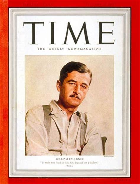 magazine archive time magazine cover william faulkner jan 23 1939