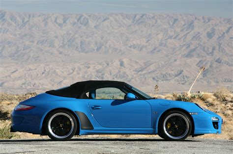 porsche speedster 2011 2011 porsche 911 speedster first drive photo gallery