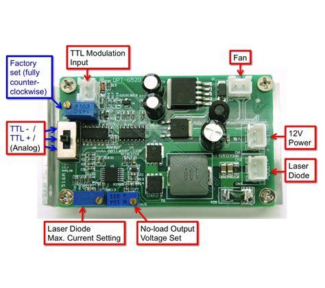 switching laser diode driver 3 5a laser driver optional ttl 12v odicforce