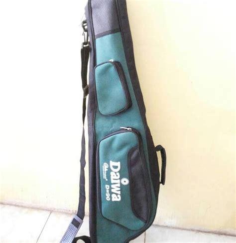 Tas Pancing Daiwa 90cm umpan mainan ikan lele mainan toys