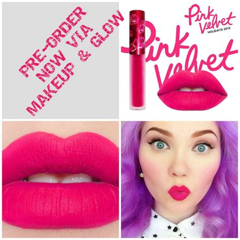 Ready Lime Crime Velvetines lime crime pink velvet pre order velvetines by lime crime pink velvet clothes fashion
