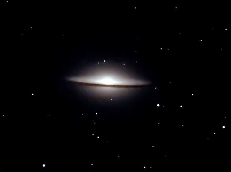 sombrero galaxy through telescope m104 sombrero galaxy astronomy pictures at orion
