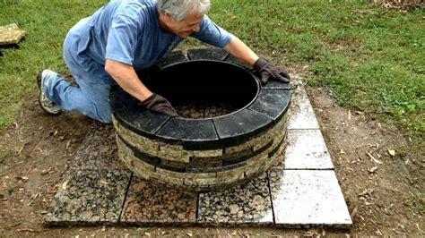 granite pit recycled granite pit install
