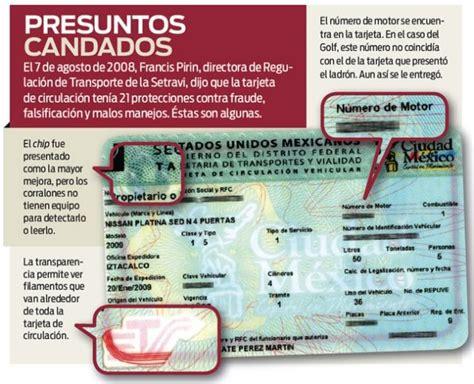 renovacion de tarjeta de circulacion solidaridad renovacion tarjeta de circulacion modulos specchio dell