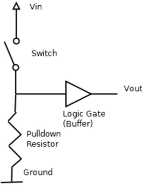 pull up or resistor arduino playground pullupdownresistor