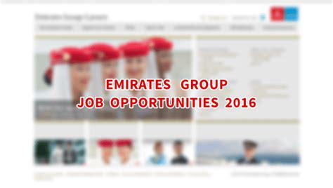 emirates recruitment emirates group job openings november 2016 dubai ofw