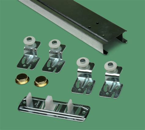23 501 2 door bypass closet door hardware kit 5ft