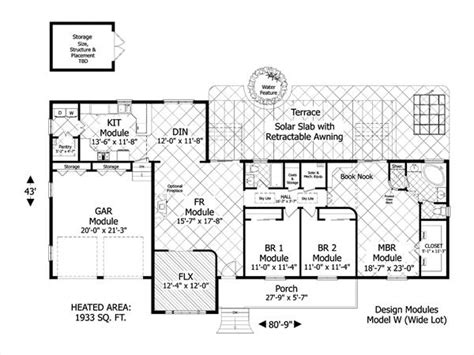 green home plans free award winning green design 3080 3 bedrooms and 2 5 baths
