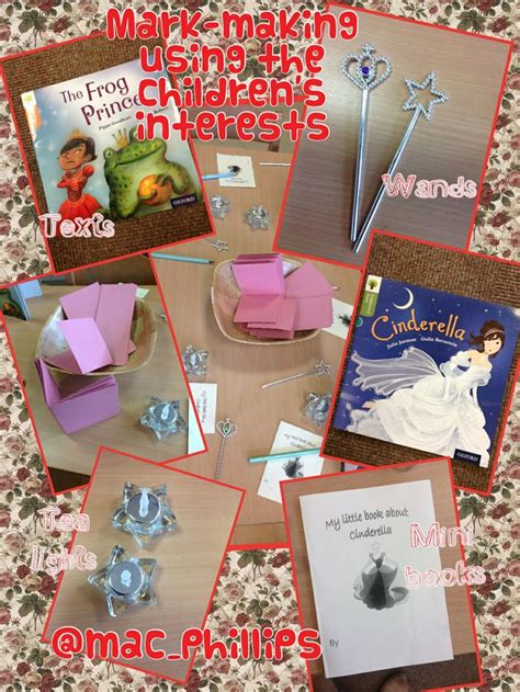 story themes for early years mark making with a princess theme early years literacy