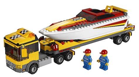 lego boot met motor lego city motorboot transport lego 4643 5702014727298