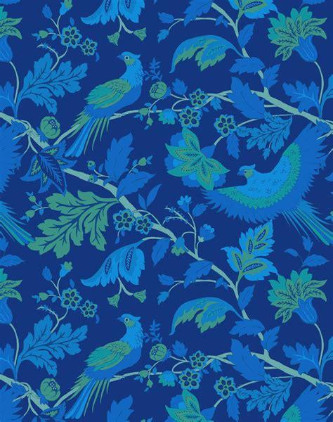 bird  wallpaper midnight blue