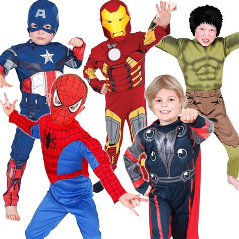 marvel the thor child costume licensed boys ebay boys licensed marvel fancy dress costumes ebay