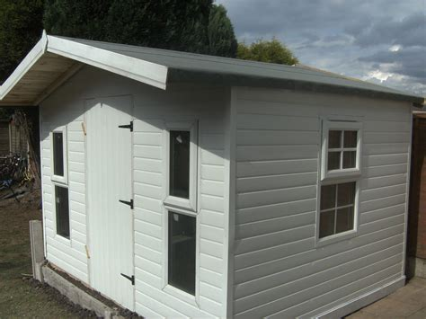 Upvc Shed by Insulated Upvc Summerhouse
