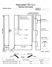 door measurement template submited images