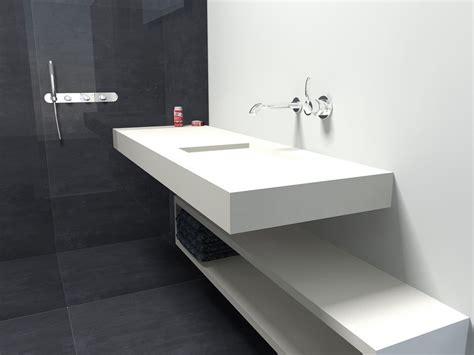 badkamertablet wastafel composiet badkamer de eerste kamer badkamers met karakter