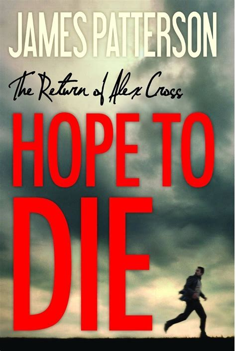 hope to die alex cross hardcover by james patterson