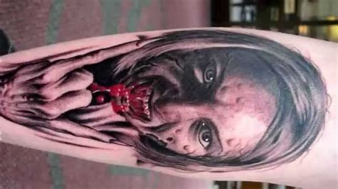 tattoo 3d hd scary 3d tattoos amazing tattoo designs 2014 hd youtube