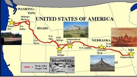 map of oregon trail oregon trail quiz it all