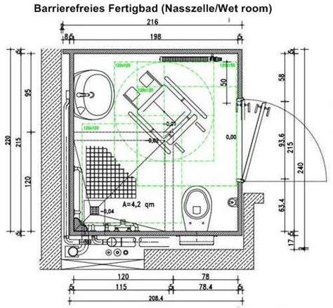 barrierefreies bad grundriss badmodernisierung