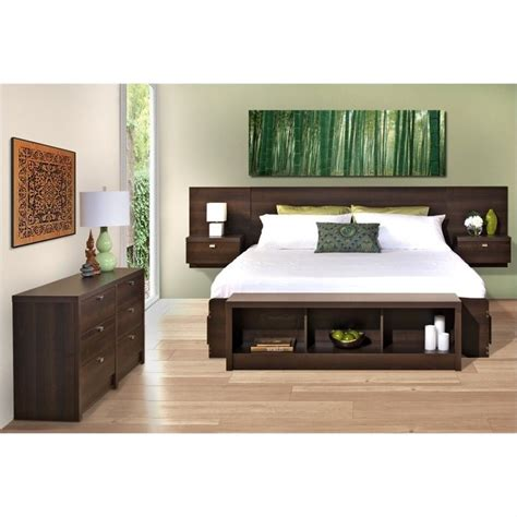 3 piece bedroom sets 3 piece bedroom set with dresser in espresso ebx ehhx