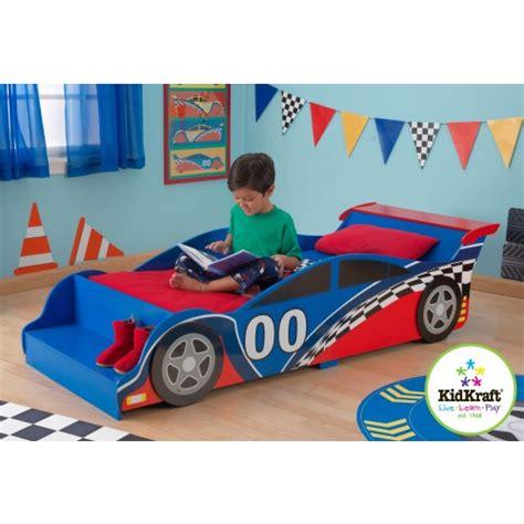 kidkraft racecar toddler bed race car toddler bed red wooden kidkraft young boys