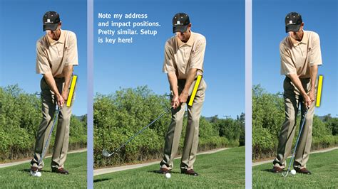 iron golf swing tips one club wonder golf tips magazine