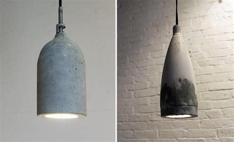 Concrete Light Pendant Diy Concrete Pendant L Cool Material