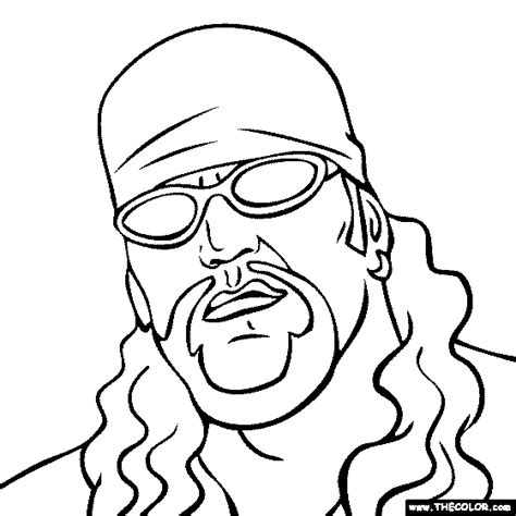 the undertaker coloring page the undertaker coloring