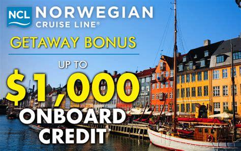 norwegian cruise onboard credit norwegian cruise line cruises 2017 and 2018 cruise deals