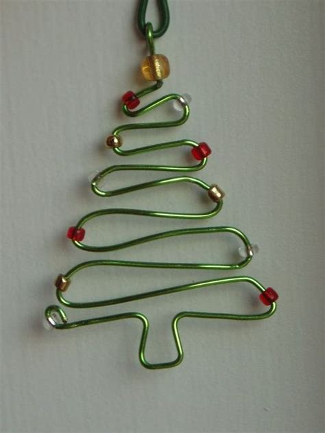 7 easy diy wire ornaments for christmas tree handmade