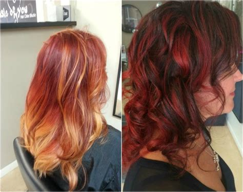 sachets of hair colours 2015 hair color trends red is in volvoab